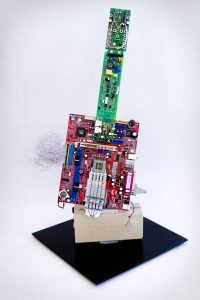 Ewaste Art - Decorative Sculpture - Ross Lamb