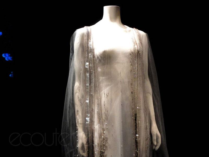 Ewaste Fashion - Copper Wire & Christmas Lights Dress