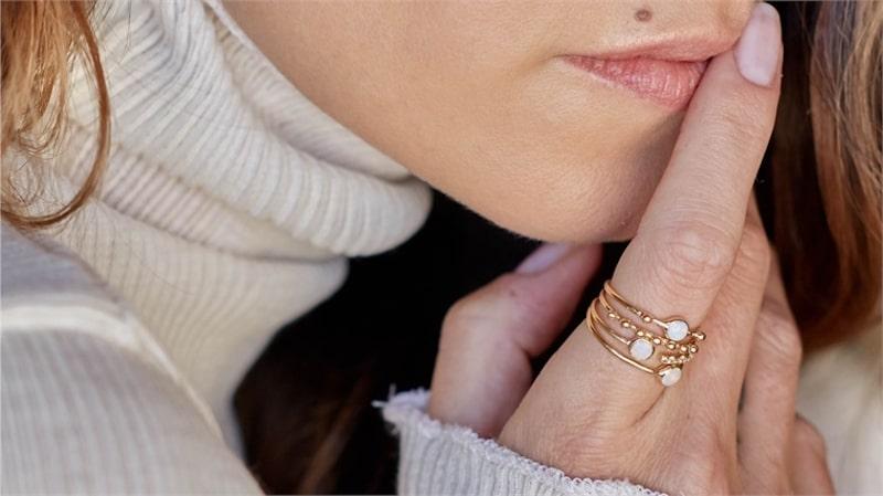 Ewaste Fashion - Motherboard Gold Ring