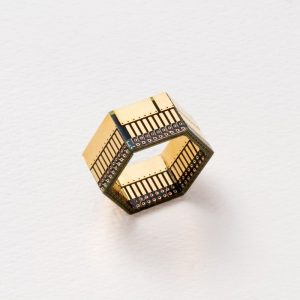 Ewaste Fashion - Circuit Board Ring