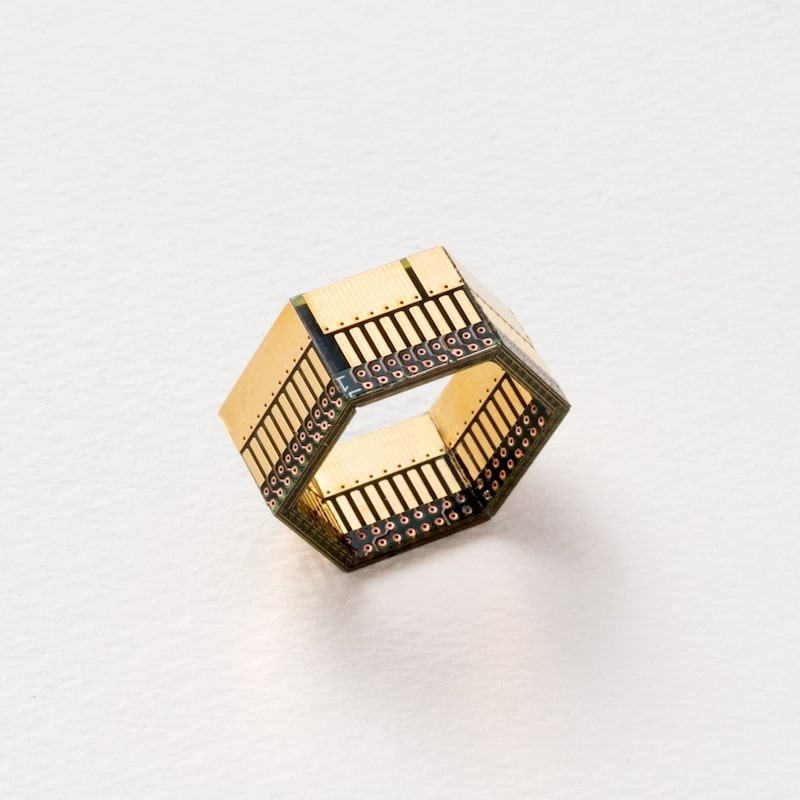 Ewaste Fashion - Circuit Board Ring